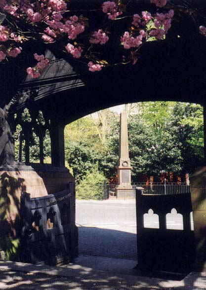Lych Gate and War Memorial